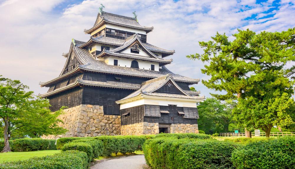 Du thuyền 5 sao lâu đài Matsue Sakaiminato Nhật Bản