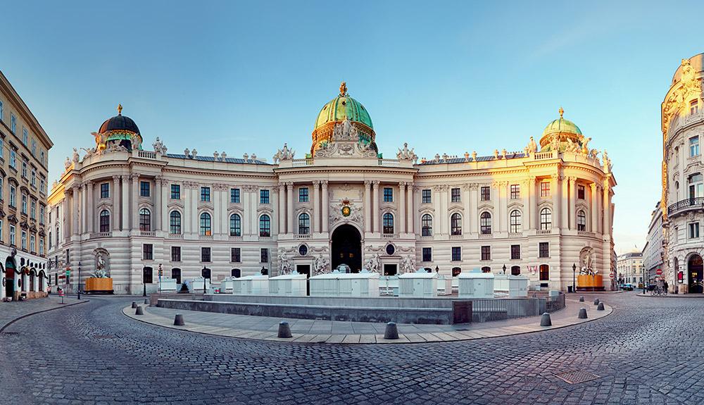 Lâu đài Hofburg thành phố Vienna