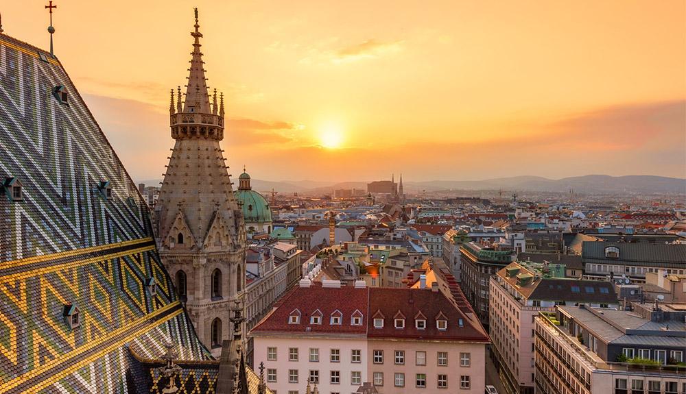 du lịch châu âu cảnh quan thành phố vienna