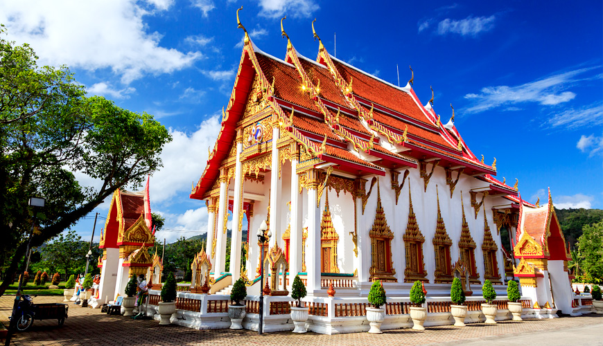 Chùa Wat Chalong Phuket, Thái Lan