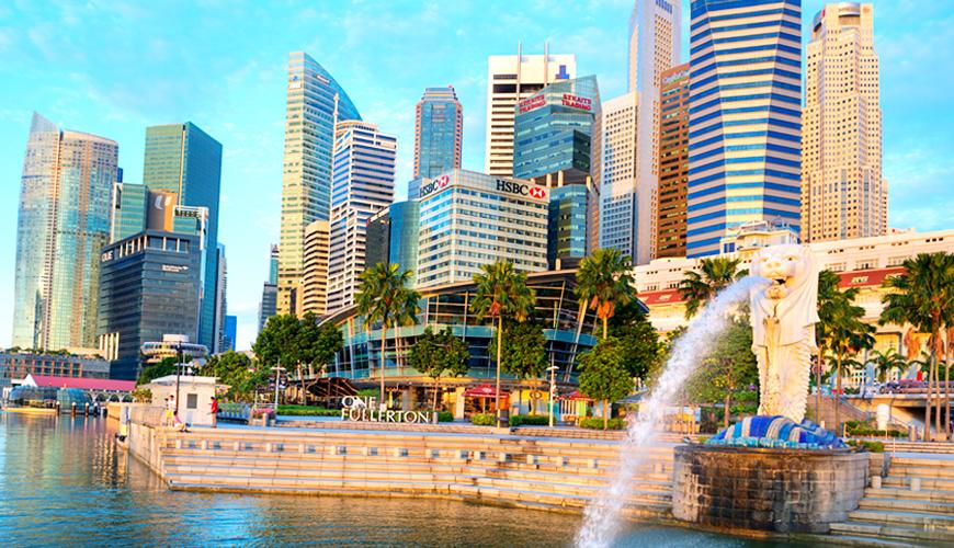 Tượng Sư tử biển, Singapore 2