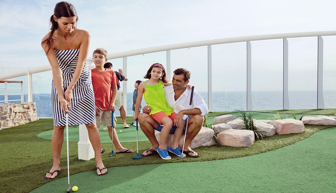 du thuyền 5 sao golf trên du thuyền