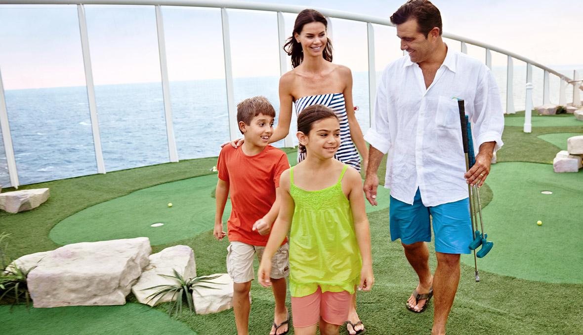 du thuyền biển đánh golf trên du thuyền