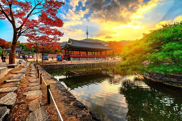 Top 10 thị trấn yên bình nhất Hàn Quốc