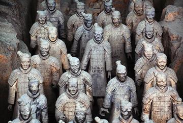Đội quân đất nung nổi tiếng thế giới ở Tây An, Trung Quốc