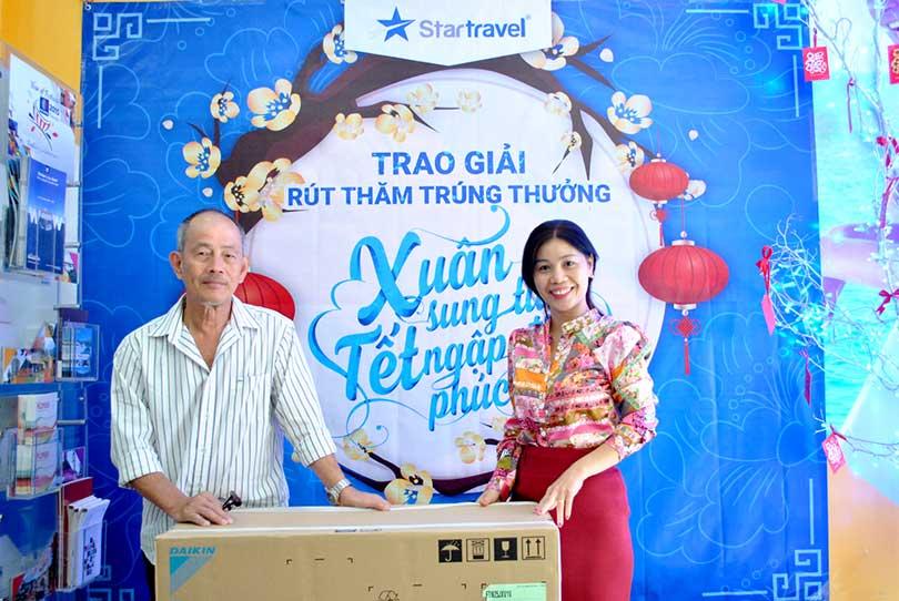 Star Travel lì xì đầu năm Bính Thân 2016