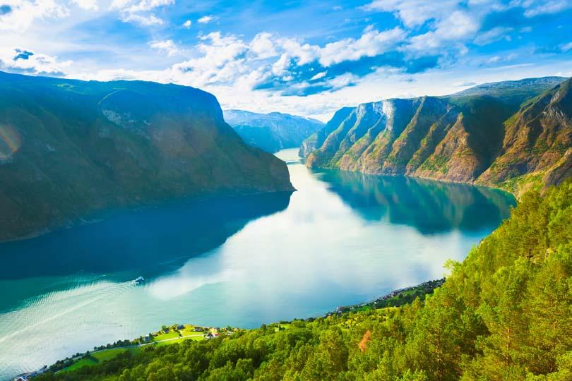 Vịnh Sognefjord, kiệt tác của thiên nhiên