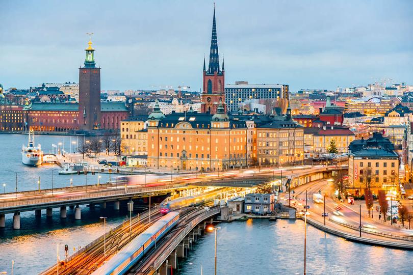Stockholm, viên ngọc xanh Châu Âu