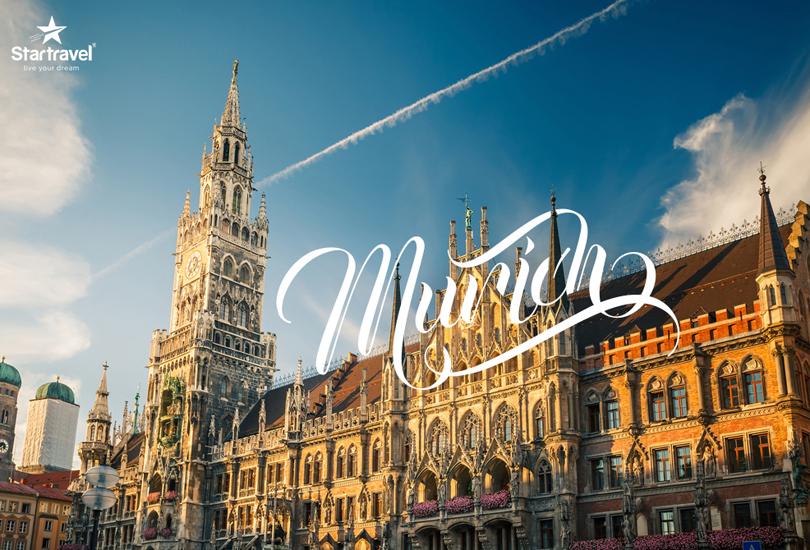 Munich, thành phố phồn hoa