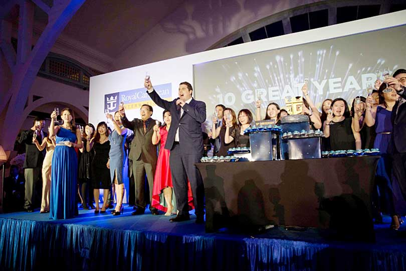 Royal caribbean Châu Á kỷ niệm 10 năm thành lập