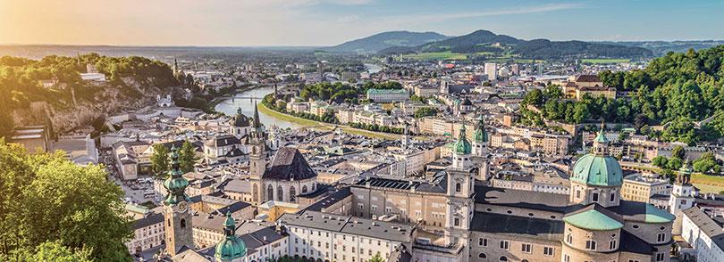 Châu Âu: Salzburg - Thiên đường du lịch nước Áo