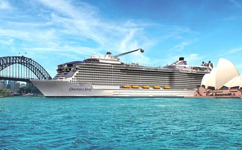 Siêu du thuyền Ovation of the Seas thông minh nhất thế giới