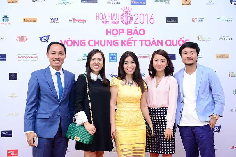 Star Travel tham dự họp báo Chung kết Hoa Hậu Việt Nam 2016