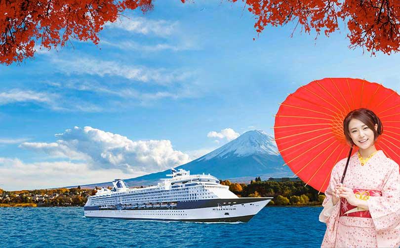 5 lý do nên khám phá mùa thu Nhật Bản bằng Du thuyền 5 sao