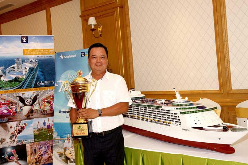 Chúc mừng chủ nhân cặp vé Du thuyền 5 sao Giải Golf Doanh nghiệp và Thương hiệu