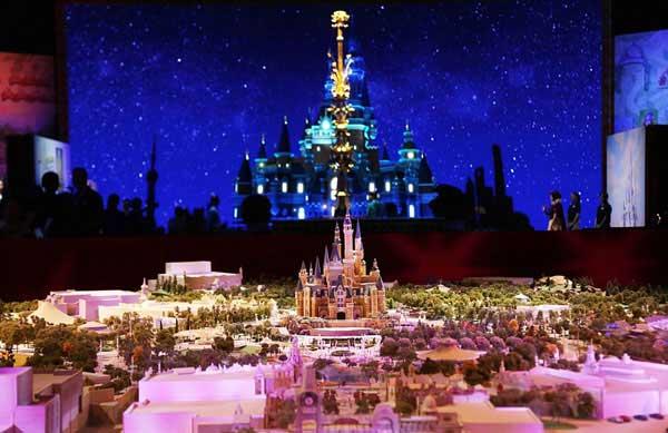 Thượng Hải sẽ ra mắt Disneyland hoành tráng đầu năm 2016