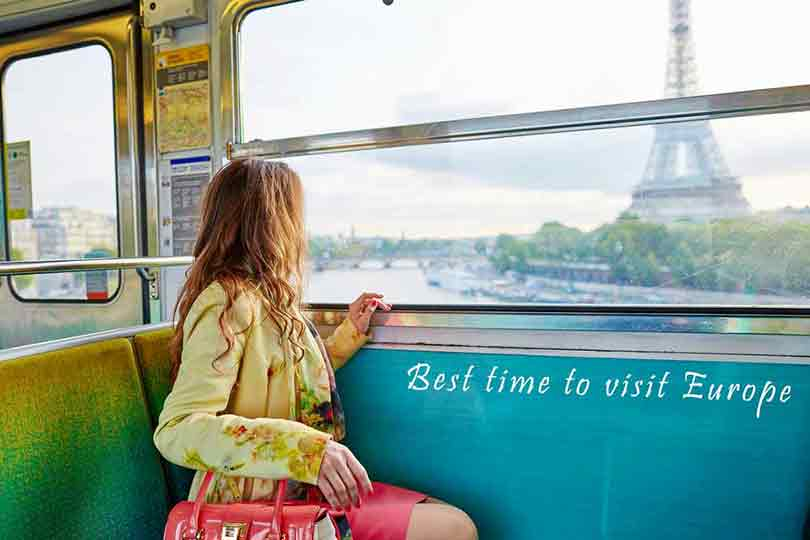 Những thời điểm đẹp nhất để du lịch các thành phố nổi tiếng Châu Âu