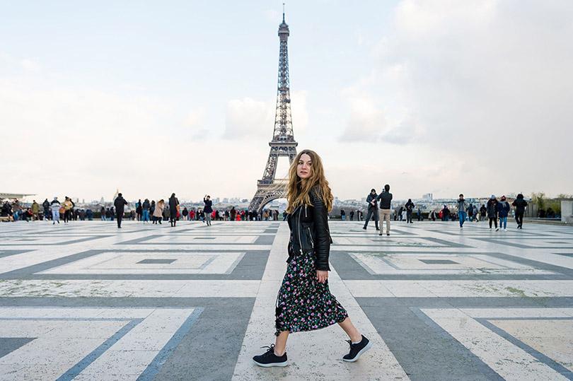 Cuối tuần ở Paris