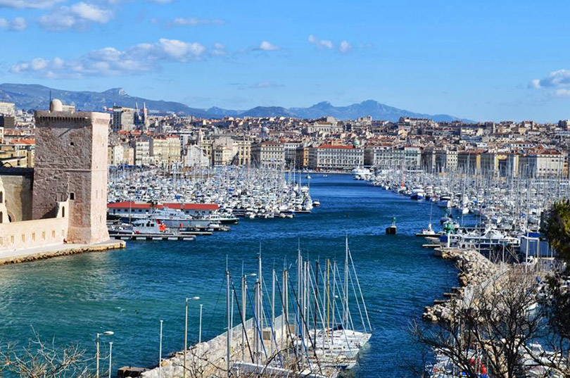 Marseille - thành phố cảng miền Nam nước Pháp