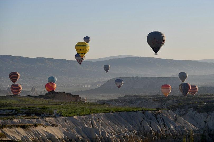 Khám phá Thổ Nhĩ Kỳ bằng khinh khí cầu