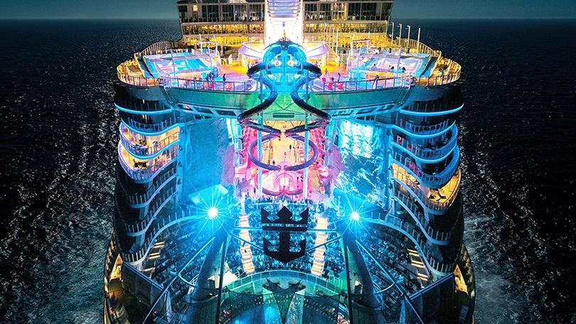 Symphony of the Seas qua những con số