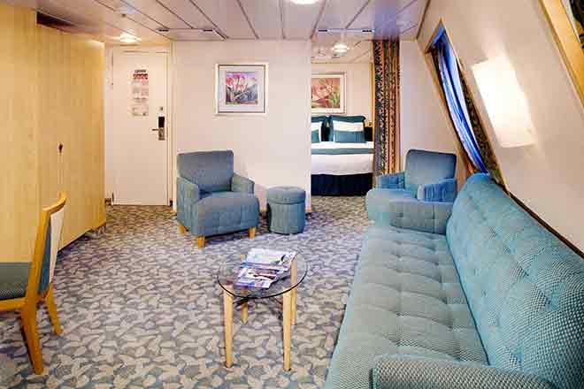 Các loại phòng trên du thuyền 5 sao