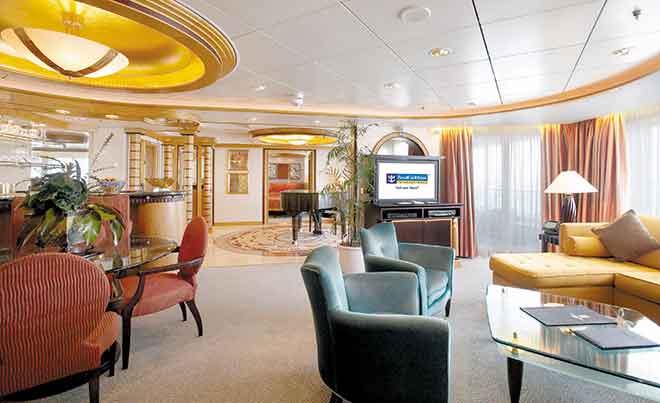 Phòng Suite trên du thuyền 5 sao Mariner Of The Seas