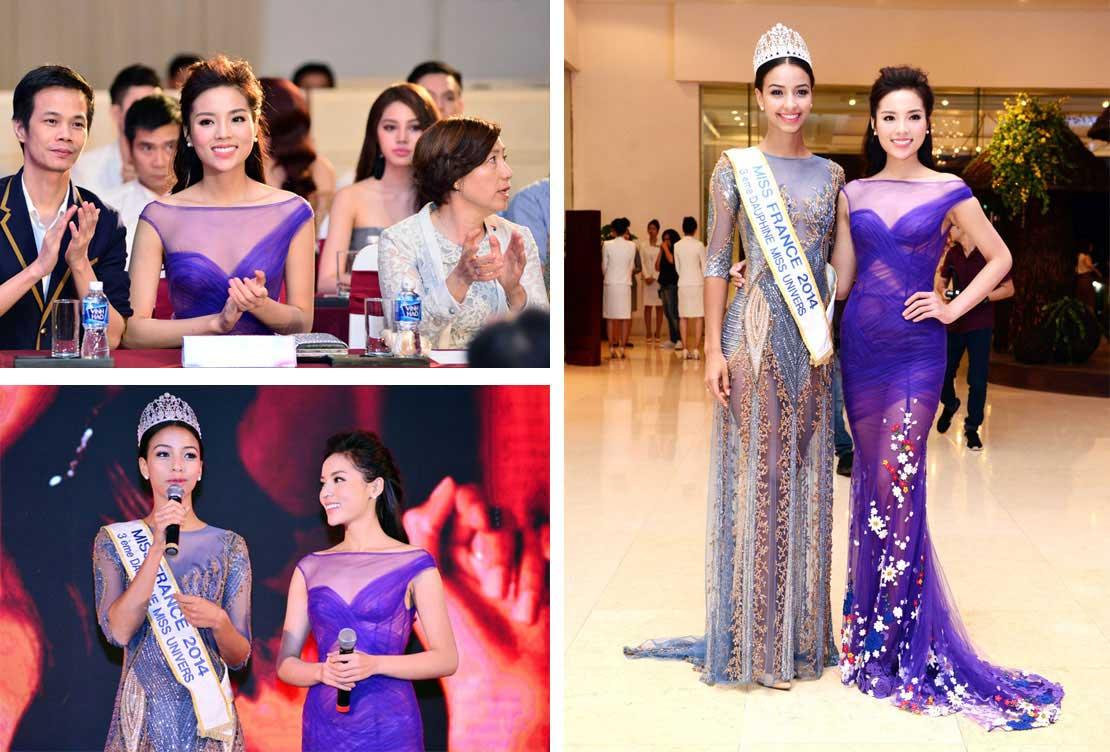Nữ Hoàng du thuyền Nikkie Phạm tham dự họp báo Hoa Hậu Việt Nam 2016