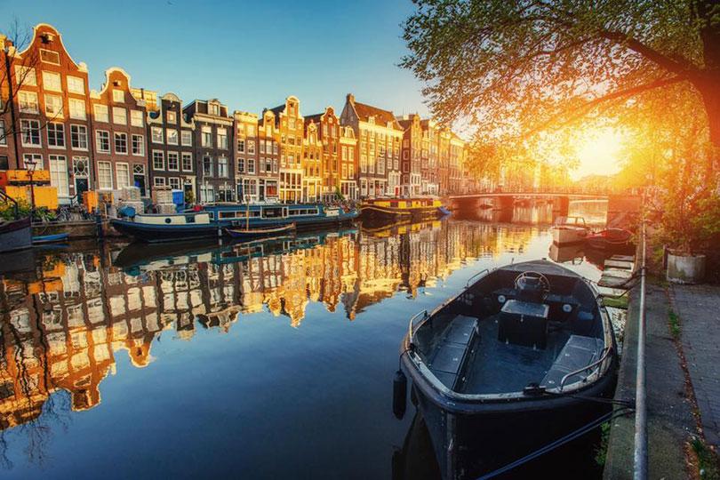 Amsterdam - một mùa thu rất khác