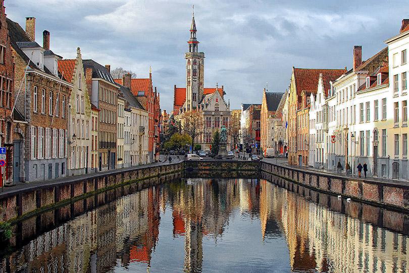 Phố cổ Brugge: thành phố cổ tích của Châu Âu