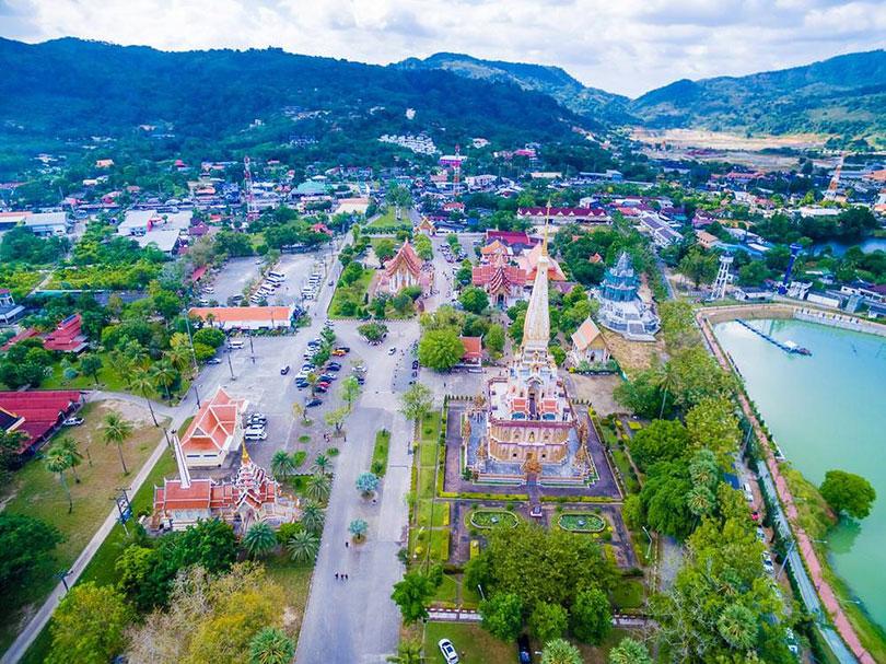 Ghé thăm ngôi chùa cổ linh thiêng Wat Chalong