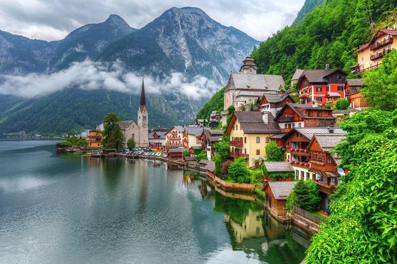 9 Thị trấn cổ tích ở Châu Âu