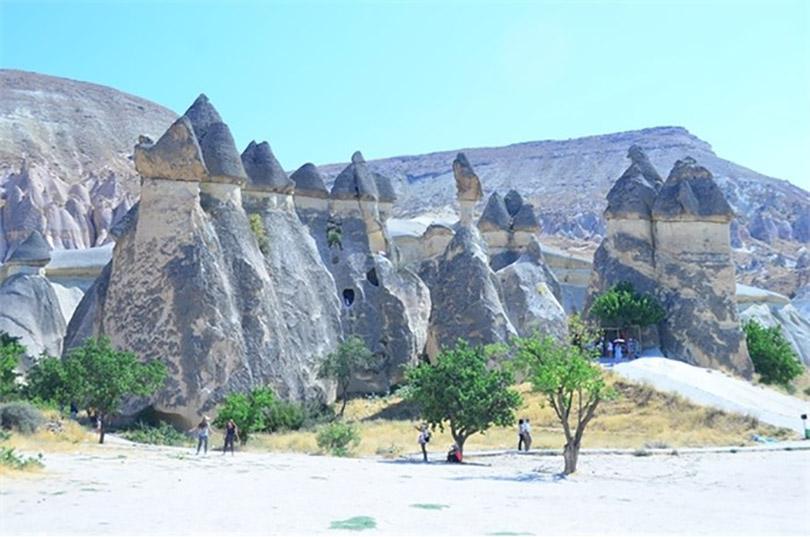 Thung lũng nấm khổng lồ ở Thổ Nhĩ Kỳ
