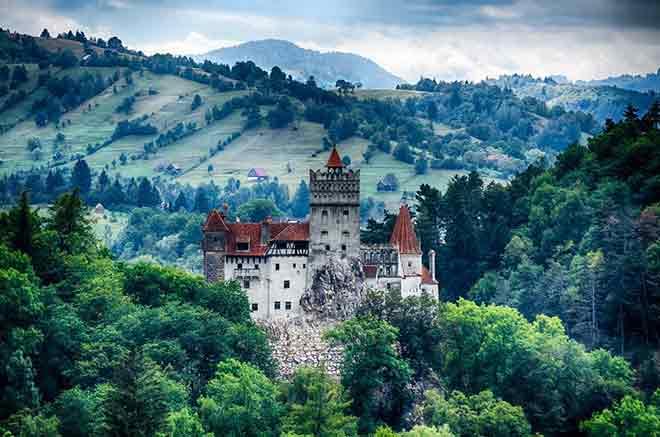 Lâu đài Bran, Bran, Romania
