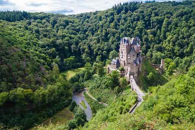 Lâu đài Eltz, Wierschem, Đức