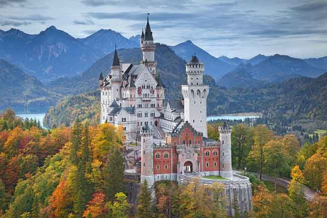 Lâu đài Neuschwanstein, Hohenschwangau, Đức