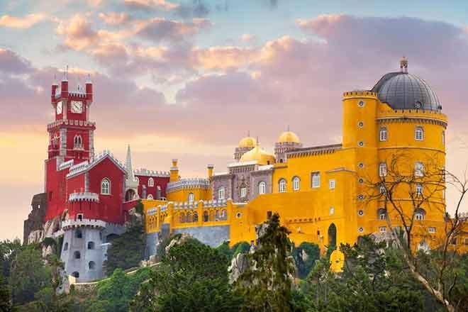 Cung điện Pena, Sintra, Bồ Đào Nha