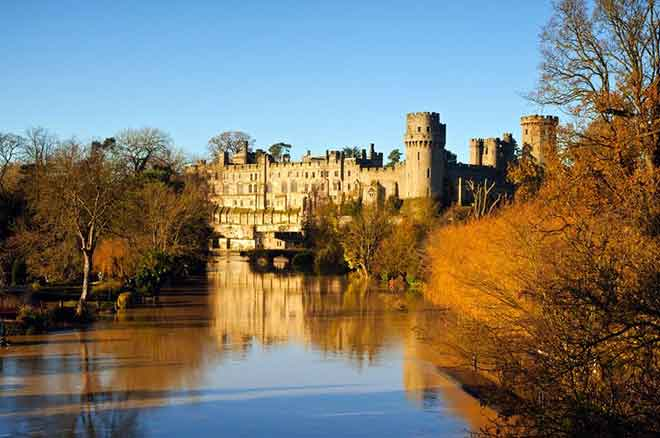 Lâu đài Warwick, Warwickshire, Anh