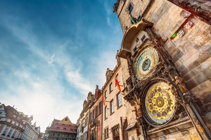 Đến Praha để ngắm đồng hồ thiên văn