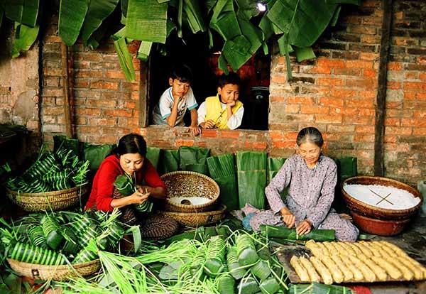 Những món ăn ngày Tết ở các nước Châu Á