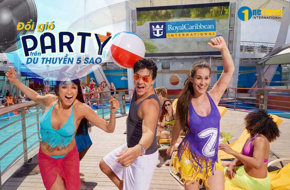 'Đổi gió' Party trên du thuyền 5 sao