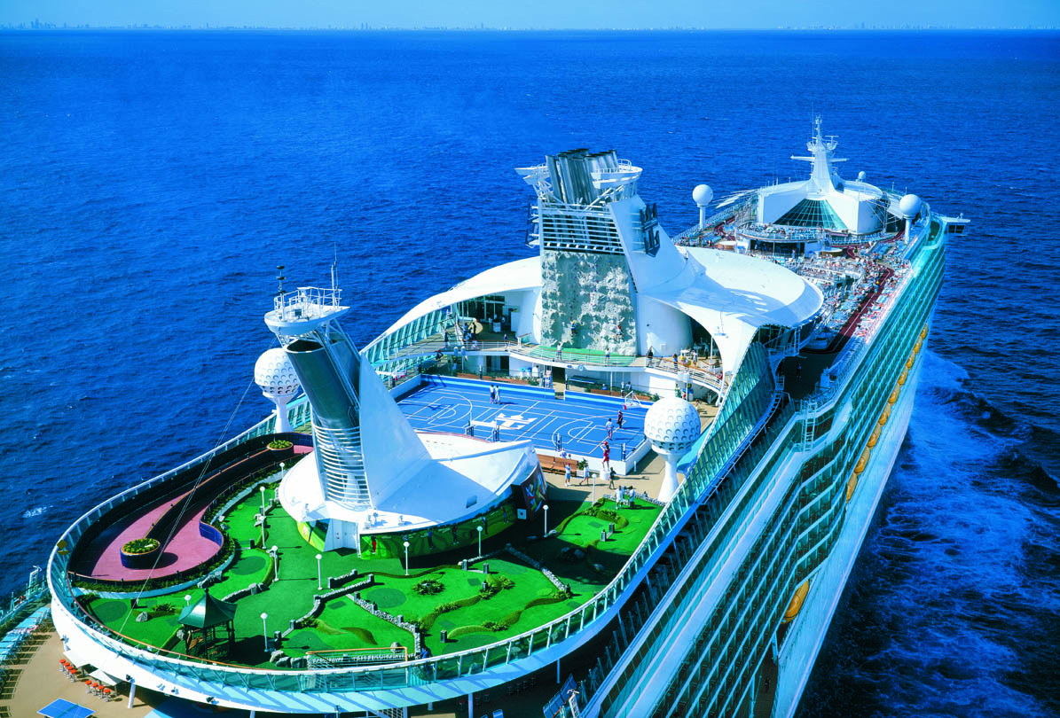 Hành trình khám phá đại dương cùng du thuyền Royal Caribbean