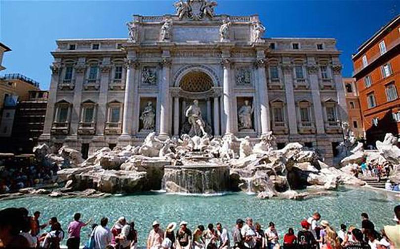 Nguyện ước thành Rome ở đài phun nước Trevi
