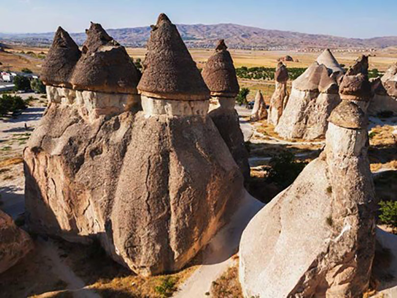 Cappadocia - Thung lũng nấm khổng lồ ở Thổ Nhĩ Kỳ