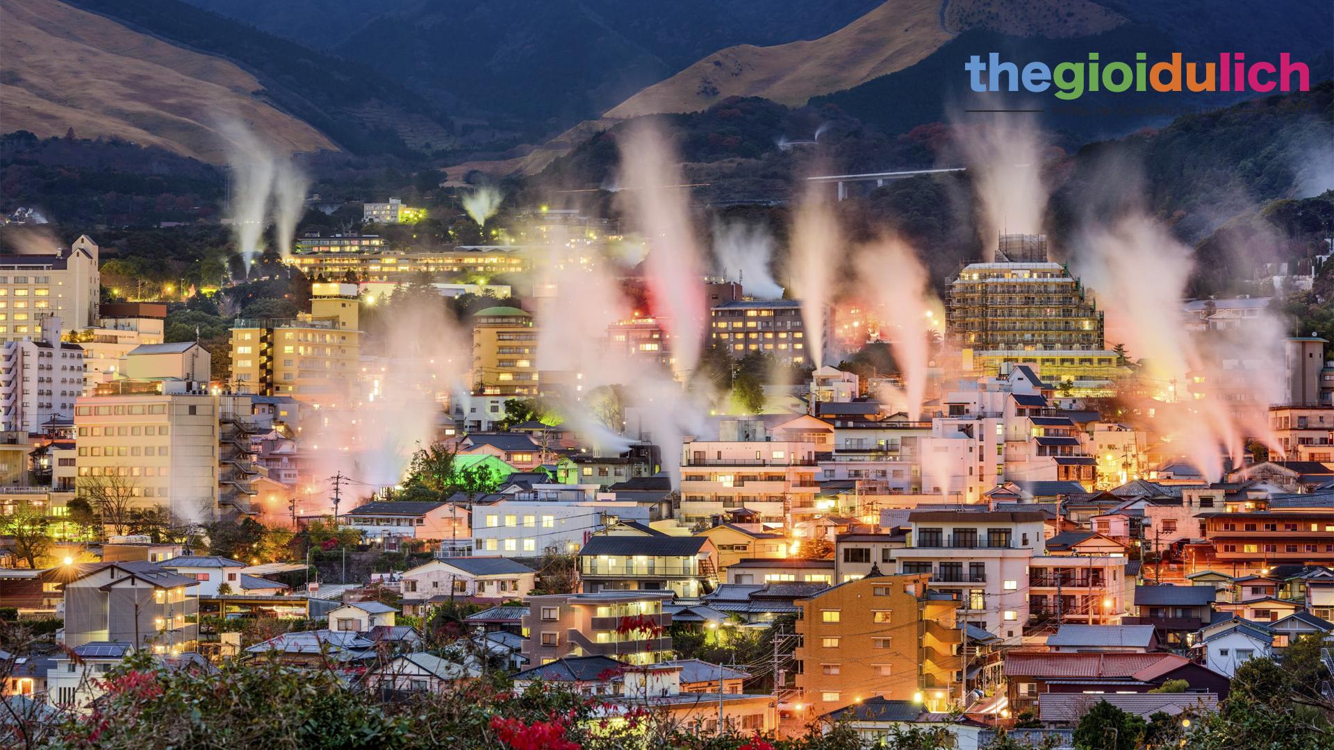 Oita - Thiên đường Onsen số 1 Nhật Bản