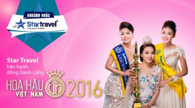 Công bố giải thưởng Hoa hậu Việt Nam 2016