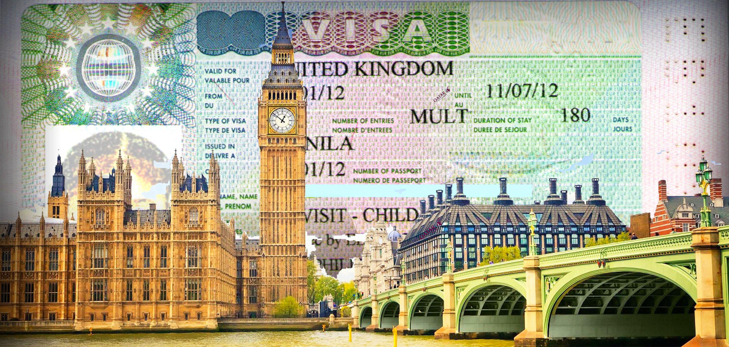 Thủ tục xin visa Anh